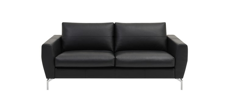 monaco-danish-black-leather-2-seater-sofa
