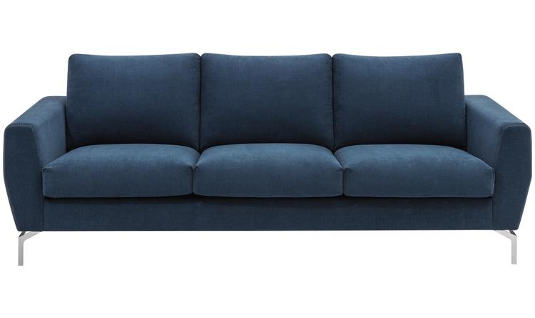 Monaco blue fabric sofa sydney - BoConcept