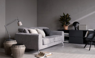 Madison modern grey sofa bed - BoConcept